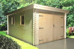 Holzgarage Auto Garage aus Holz Gartengarage
